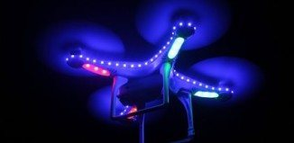 Quadcopter LED Blue Light Kit Strip
