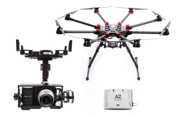 DJI Spreading Wings S1000 The Ultimate Octocopter
