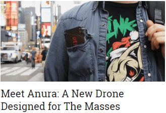 meet anura a new drone designed for the masses