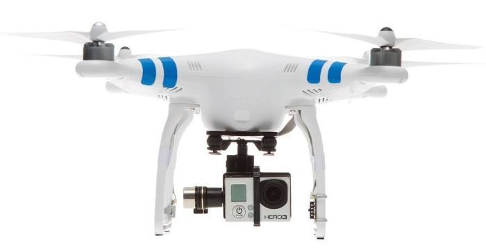 dji phantom gopro