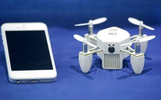 Meet ZANO A Tiny Nano Drone for Selfies