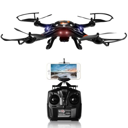DBPOWER FPV Wi-Fi Motion-Sensing Quadcopter